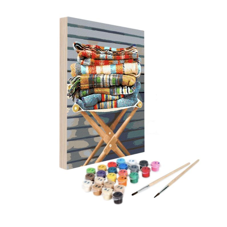 Paint By Numbers Kit - Bonfire