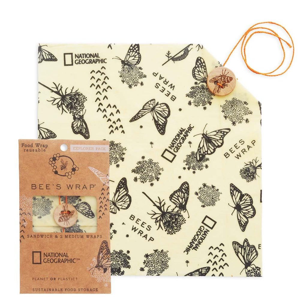 Beeswrap Monarch National Geographic Edition Explorer Pack