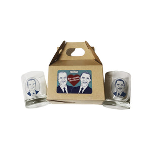 Barack & Joe Bromance Shots Gift Box