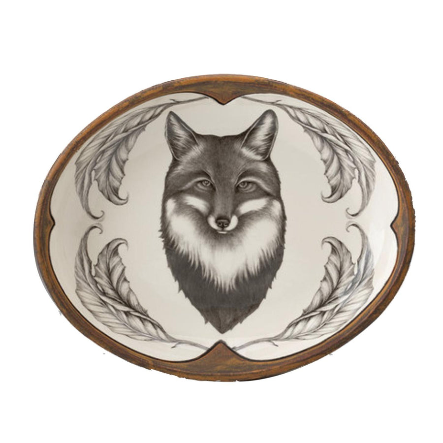 Small Serving Dish - Fox Portrait