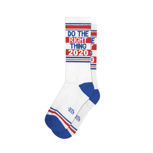 Do The Right Thing 2020 Gym Sock