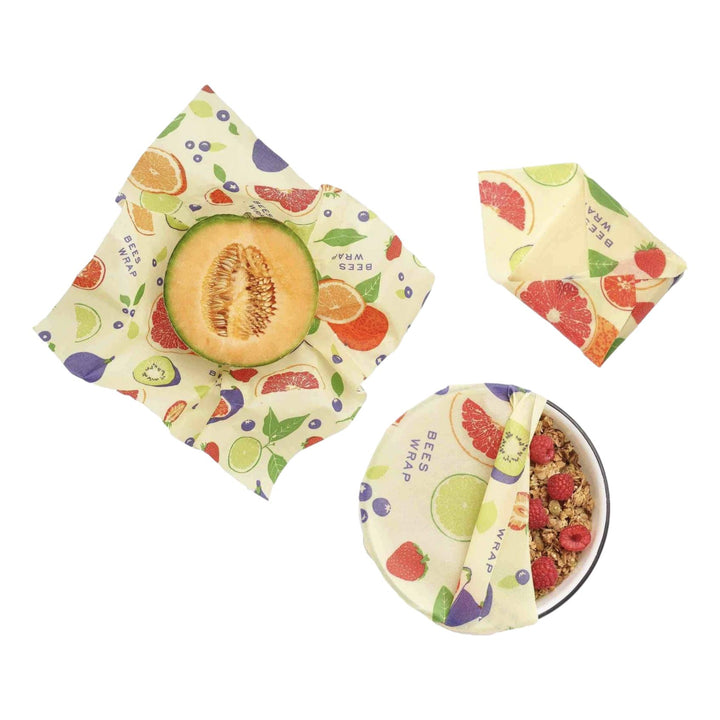 Bee's Wrap Fresh Fruit Set of 3 - Small, Medium, Large