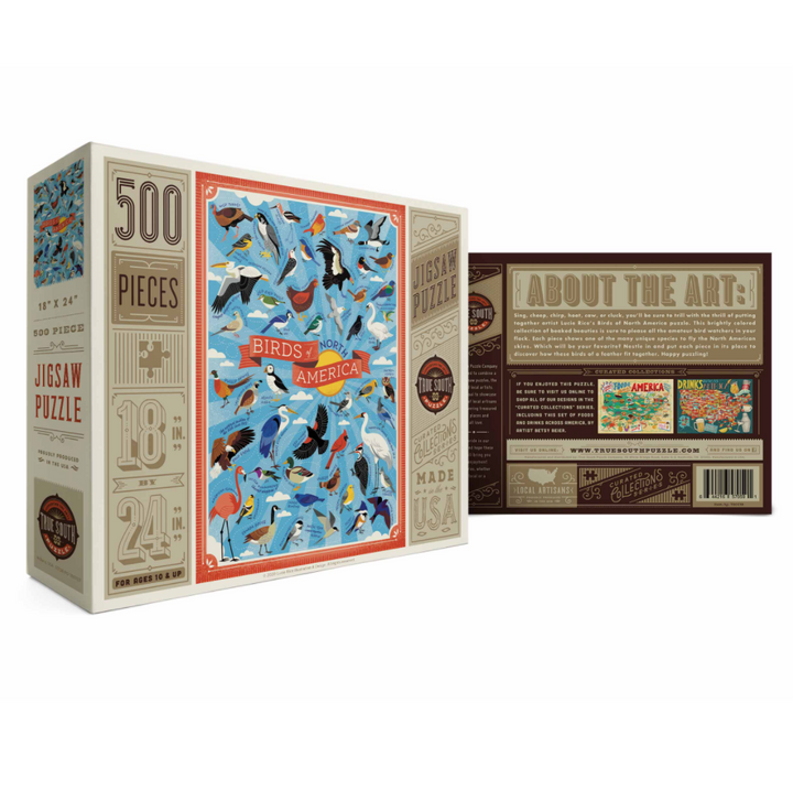 Birds of North America Puzzle - 500 Pieces