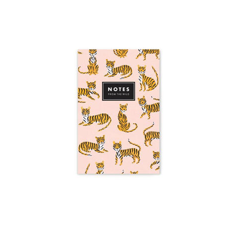 Notes from the Wild - Mini Tiger Notepad