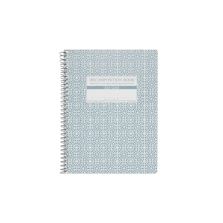 Coilbound Decomposition Dot Grid Notebook - Mosaic