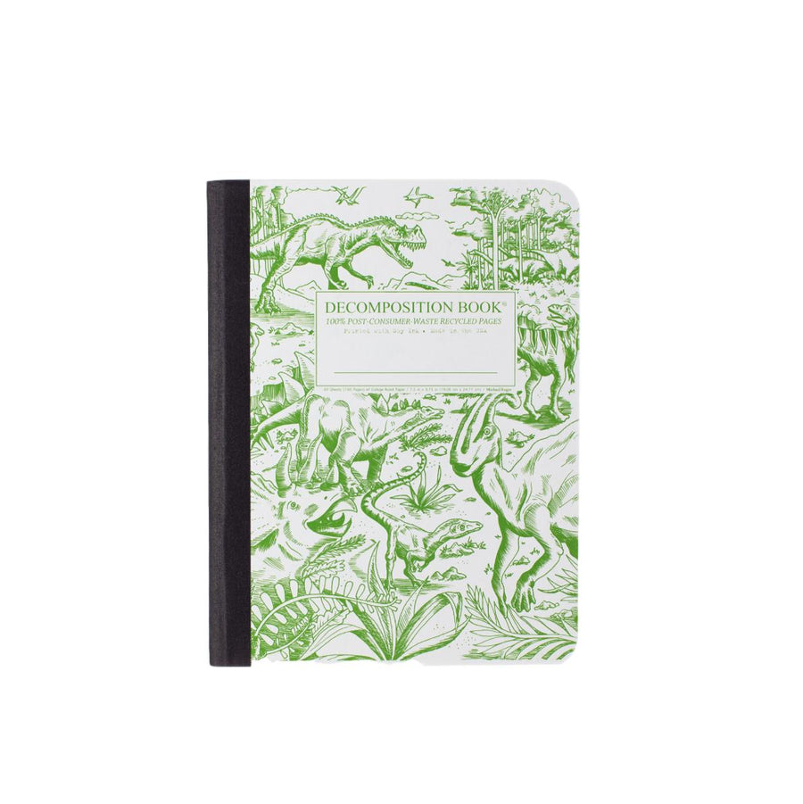 Decomposition Lined Notebook - Dinosaurs