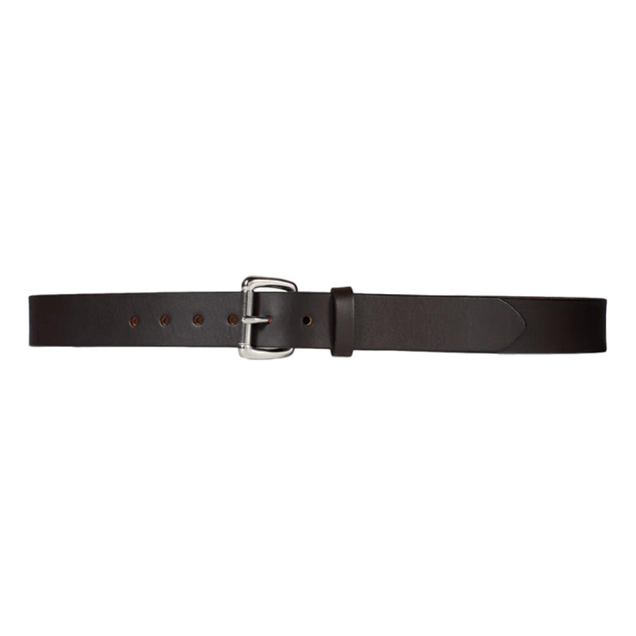 Filson Bridle Leather Belt 1-1/4 - Brown with Steel Buckle