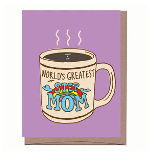 Step Mom Mom Card - Scratch + Sniff