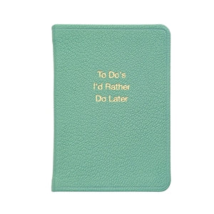 Mini To-Do Notebook - Robin's Egg Blue