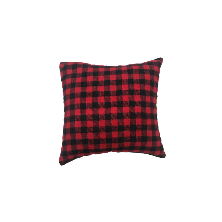 Red Buffalo Plaid Balsam Pillow