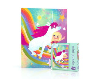 Friends Forever Unicorn Mini Puzzle 20 Pieces