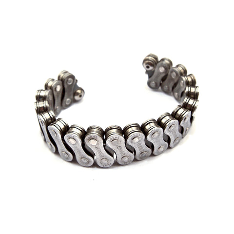 Knox Bike Chain Cuff Bracelet