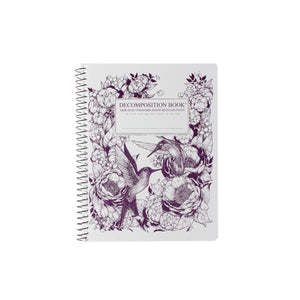 Coilbound Decomposition Lined Notebook - Hummingbird