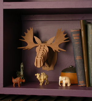 Wall Mounted Moose Puzzle Decor