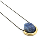 Sun and Moon Stone Necklace