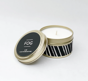 Fog Travel Tin Candle 6oz