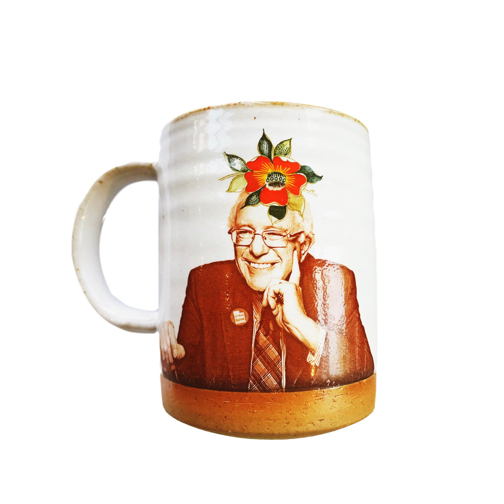 Bernie Flower Crown Mug