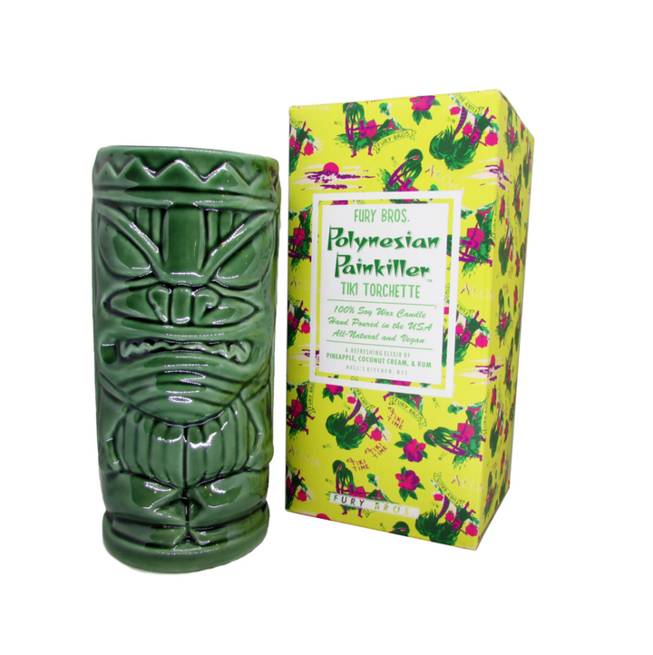 Polynesian Painkiller Tiki Torchette Candle