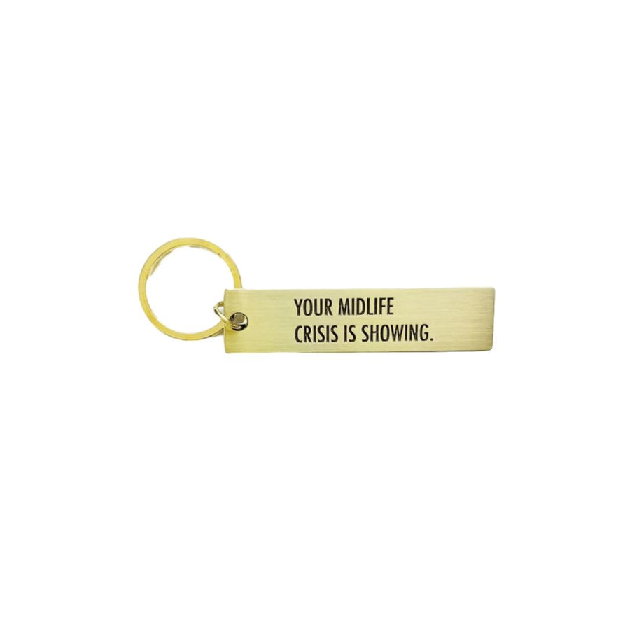 Midlife Crisis Key Tag
