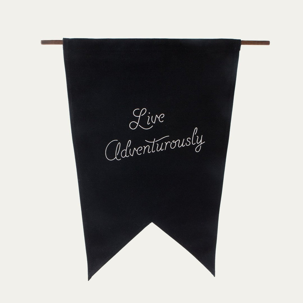 Live Adventurously Flag