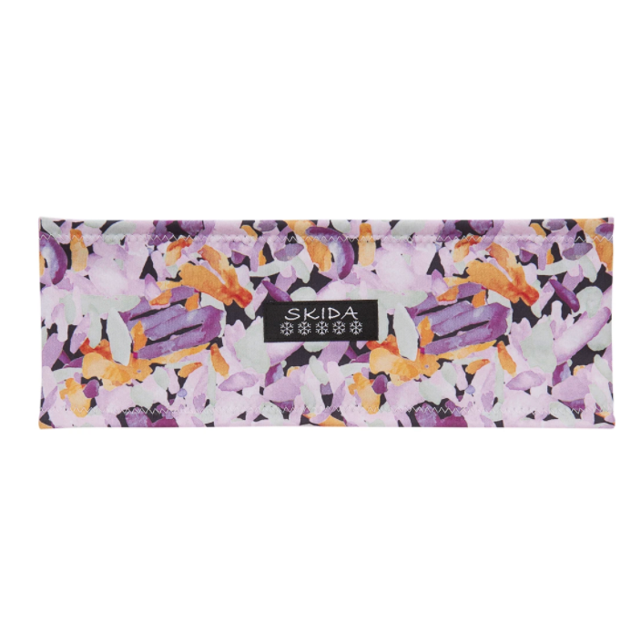 SKIDA Alpine Fleece-Lined Headband Kaleidoscope