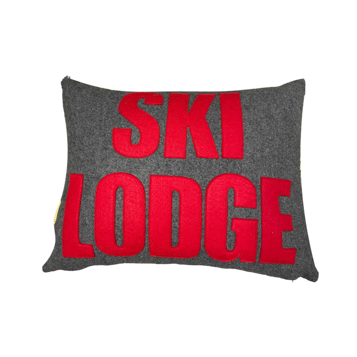 Ski Lodge Pillow