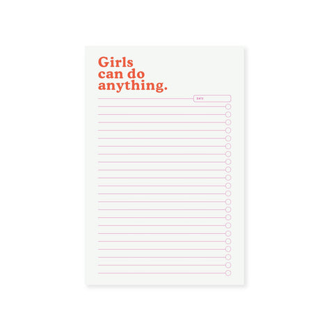 Girls Can Notepad