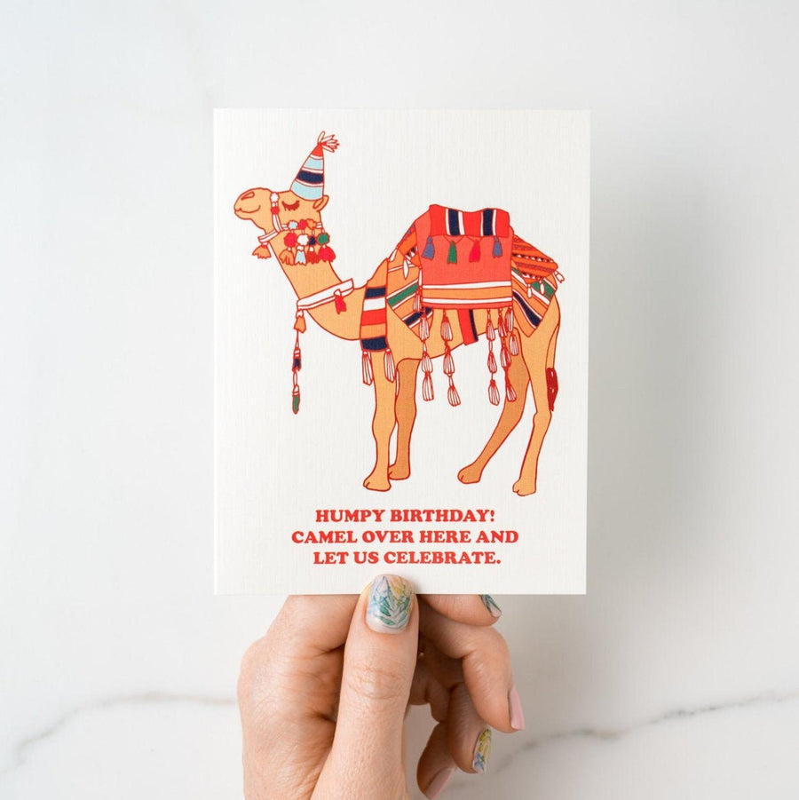 Camel Birthday Card - IL6