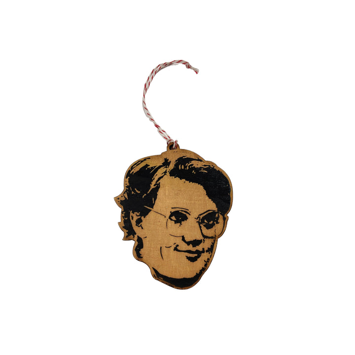 Famous Face Wooden Ornament - Barb from Stranger Things (Shannon Purse)