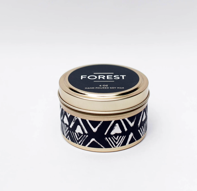 Forest Travel Tin Candle 6oz
