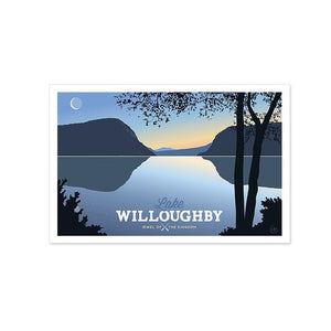 Lake Willoughby Art Print - 13x19