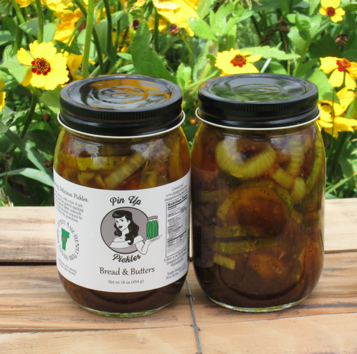 Made in Vermont Bread & Butter Pickles