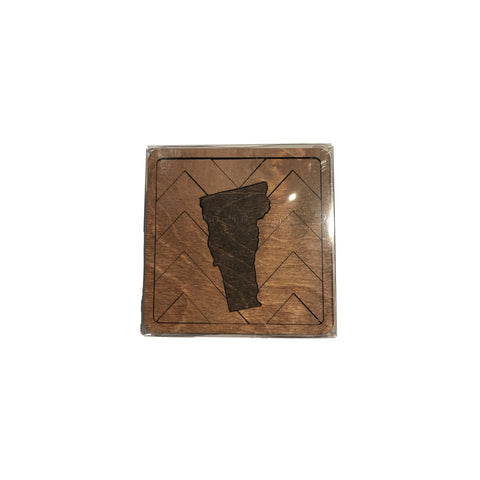 Vermont Magnetic Puzzle Coaster