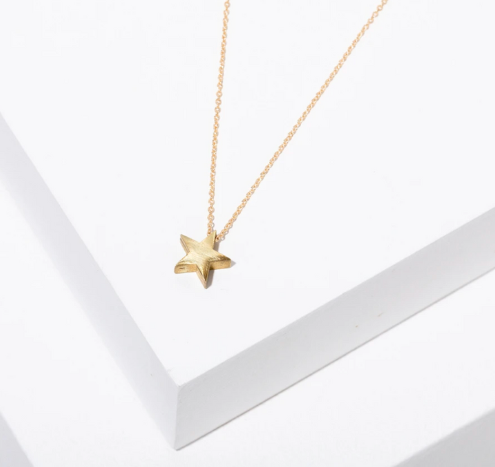 Gold Fill Star Necklace