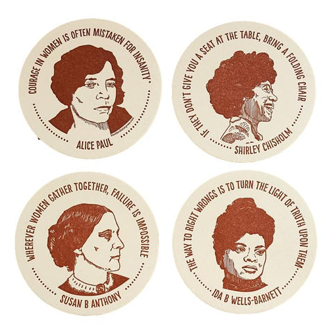 Inspiring Women Coaster Set