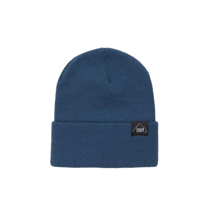 SKIDA USA Knit Ridge Beanie - Champlain Blue