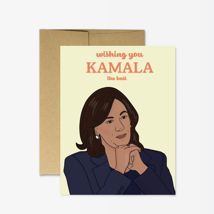 Kamala Wish The Best Card - PM4