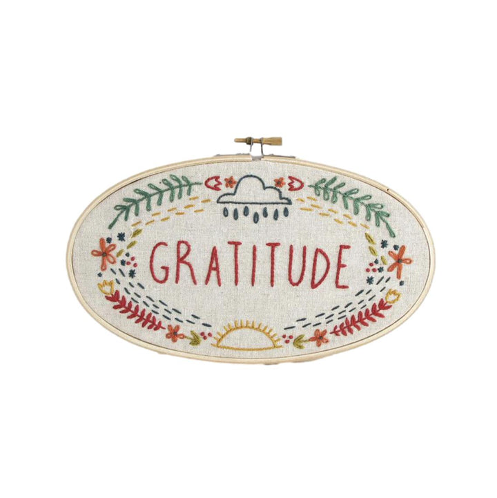 Little Truths Embroidery Kit - Gratitude