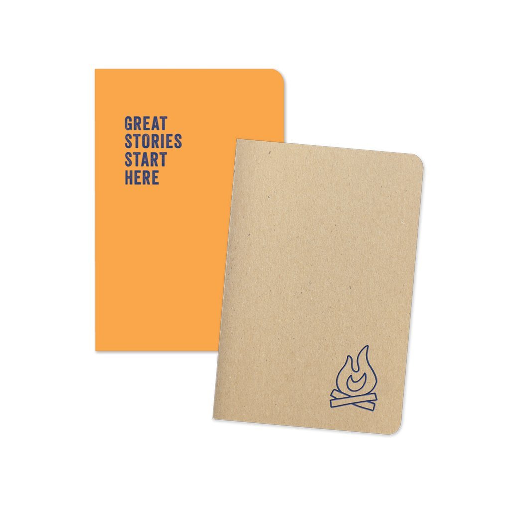 Campfire and Great Stories Notebook Duo