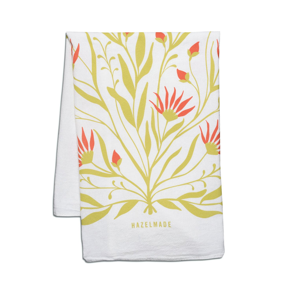 Bold Florals Tea Towel