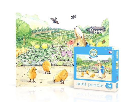 Peter Rabbit with Spring Chicks Mini Puzzle