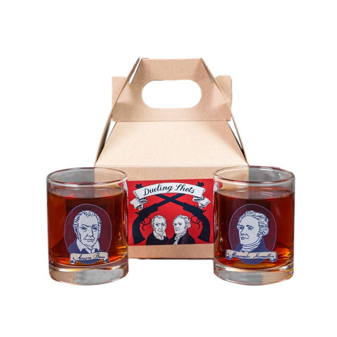 Dueling Shots Gift Box - Hamilton and Burr