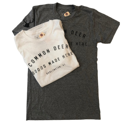 Common Deer T-Shirt in Grey