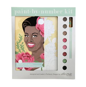 Paint by Numbers Kit - Michelle with Peonies