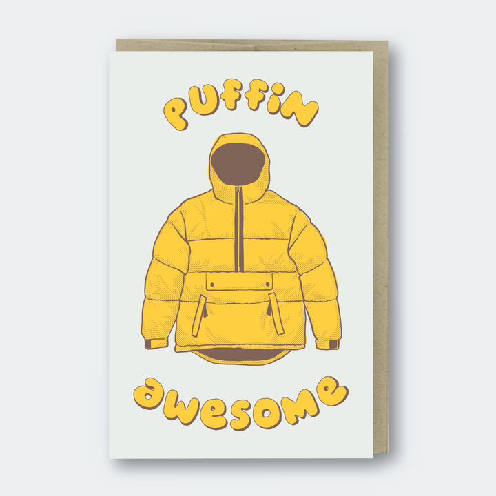 Puffin Awesome Jacket Card - PS1