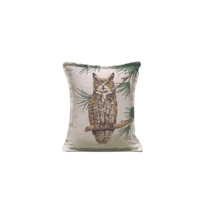 Balsam Needle Filled Owl Pillow