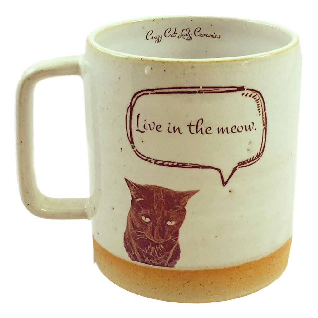 Live in the Meow Mug
