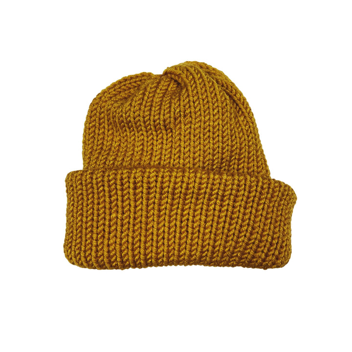 Vermont Knit Summit Hat - Mustard