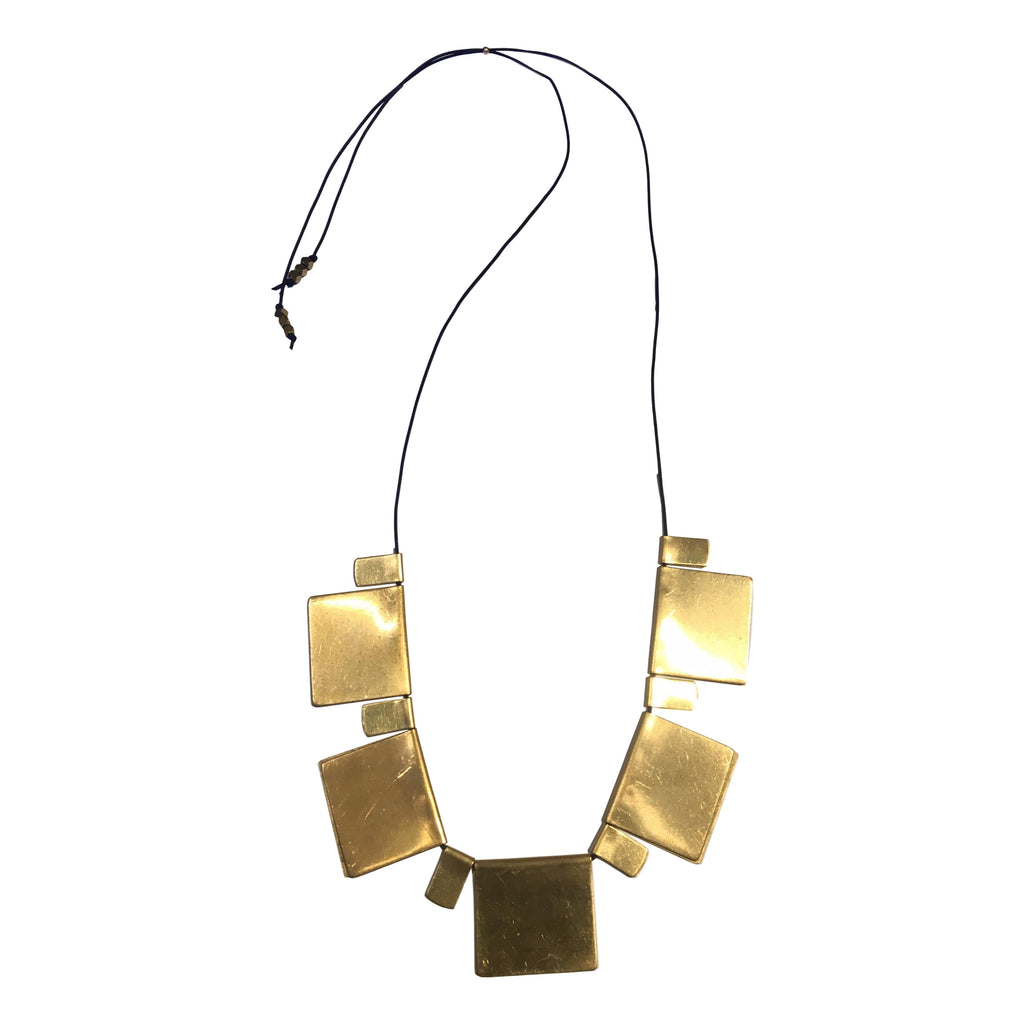 The Offering Brass Necklace