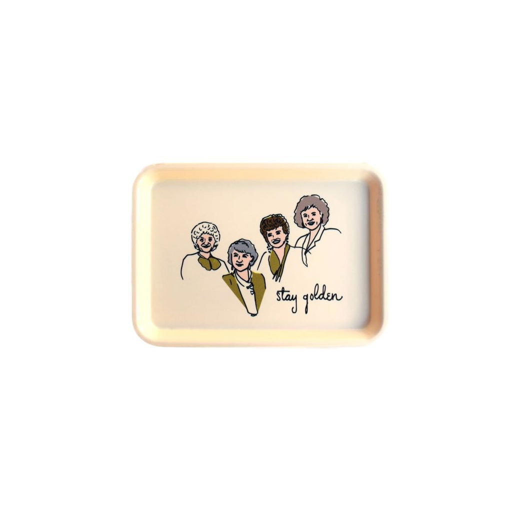 Golden Girls Trinket Tray